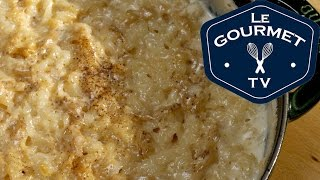 Baked Rice Pudding - Recipe - LeGourmetTV