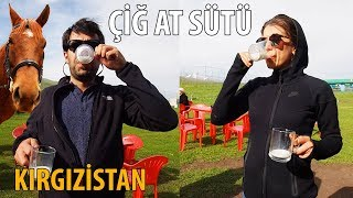 Çiğ At Sütü ve Kımız İçtik - Kırgızistan
