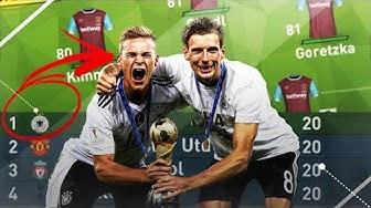 KÖNNTE DER DEUTSCHE CONFED CUP-KADER DEN PL-TITEL HOLEN??!! FIFA 17 EXPERIMENT#22