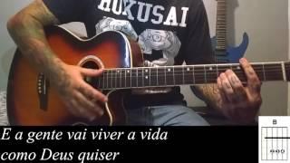 Simone e Simaria - Regime Fechado como tocar no violão (Simplificada)