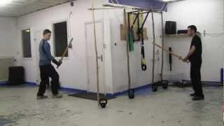 JianFa.se - Wooden Dummies for sword practice!