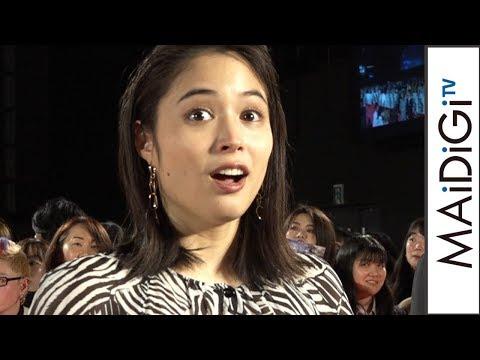 広瀬アリス、三浦友和の「とても素敵な女優さん」評価に歓喜! 「イメージぶっ壊していきたい」 映画「AI崩壊」ジャパンプレミアイベント