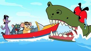 Rat-A-Tat |'Giant Crocodile Attack Animal World Full Episodesᴴᴰ'| Chotoonz Kids Funny Cartoon Videos