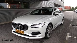 VOLVO S90 2017 / Start Up, Drive, In Depth Review Interior Exterior