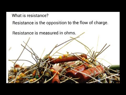 Electrical Resistance - IGCSE Physics