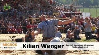 Wenger Kilian am Bernisch Kantonalen Schwingfest in Niederscherli 2013
