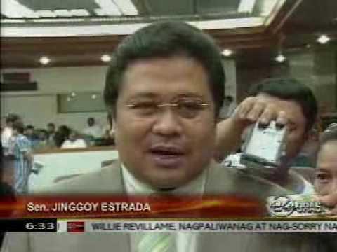GMANews TV   NSA adviser visits Estrada in Tanay