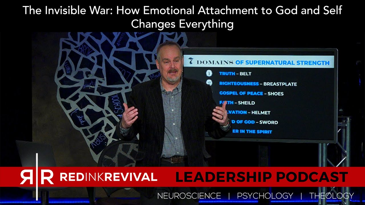 54. Patrick Norris – The Invisible War: How Emotional Attachment to God and Self Changes Everything