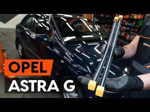 Как заменить щётки стеклоочистителя наOPEL ASTRA G CC (F48, F08) [ВИДЕОУРОК AUTODOC]