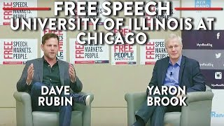 Dave Rubin and Yaron Brook LIVE at University of Illinois at Chicago