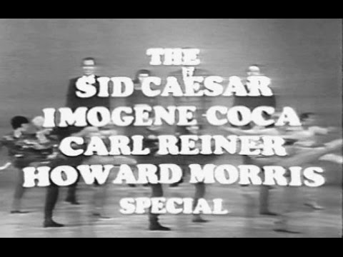 The Sid Caesar Imogene Coca Carl Reiner Howard Morris Reunion Special Apr 4, 1967