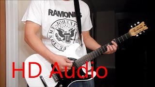 Ramones – Now I Wanna Be A Good Boy (Guitar Cover), Barre Chords, Downstroking, Johnny Ramone