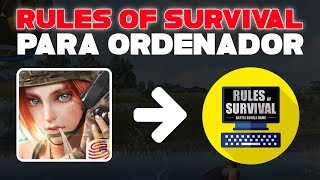 COMO DESCARGAR RULES OF SURVIVAL PARA PC