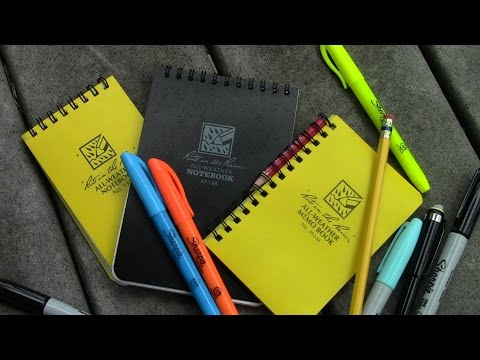 Rite in the Rain Notebooks: The Full Review by TheGearTester