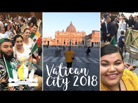Family Vacation Vlog Part 2   Seeing the Pope at the Vatican