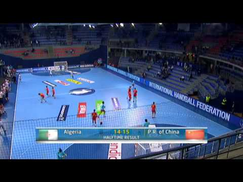 Algeria v China   Group B Women's World Handball 2013