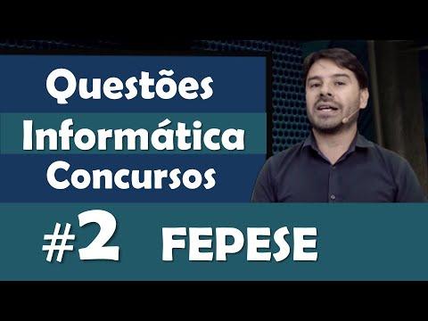 FEPESE   Questões De Informática Para Concursos #2