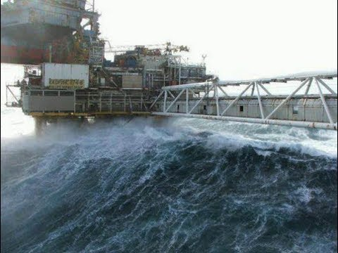 (REALITY OF THE SEA) Ultimate Ships & Oil Rigs In STORMS