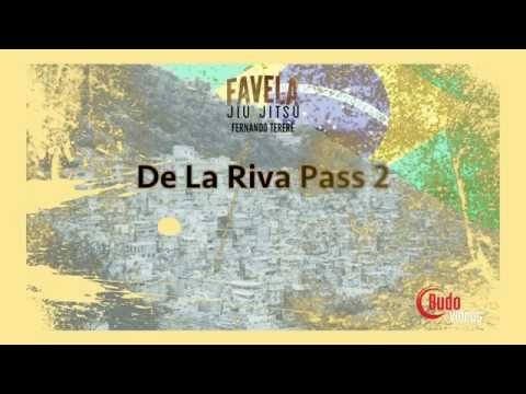 Favela Jiu Jitsu De La Riva Guard Pass Sample technique Fernando Terere