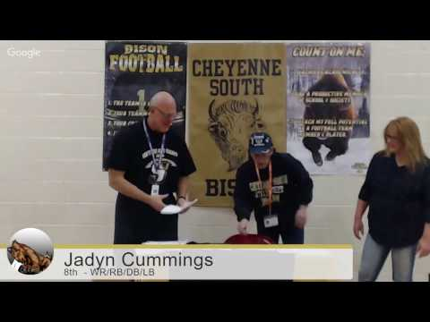 South High Football Letter of Intent