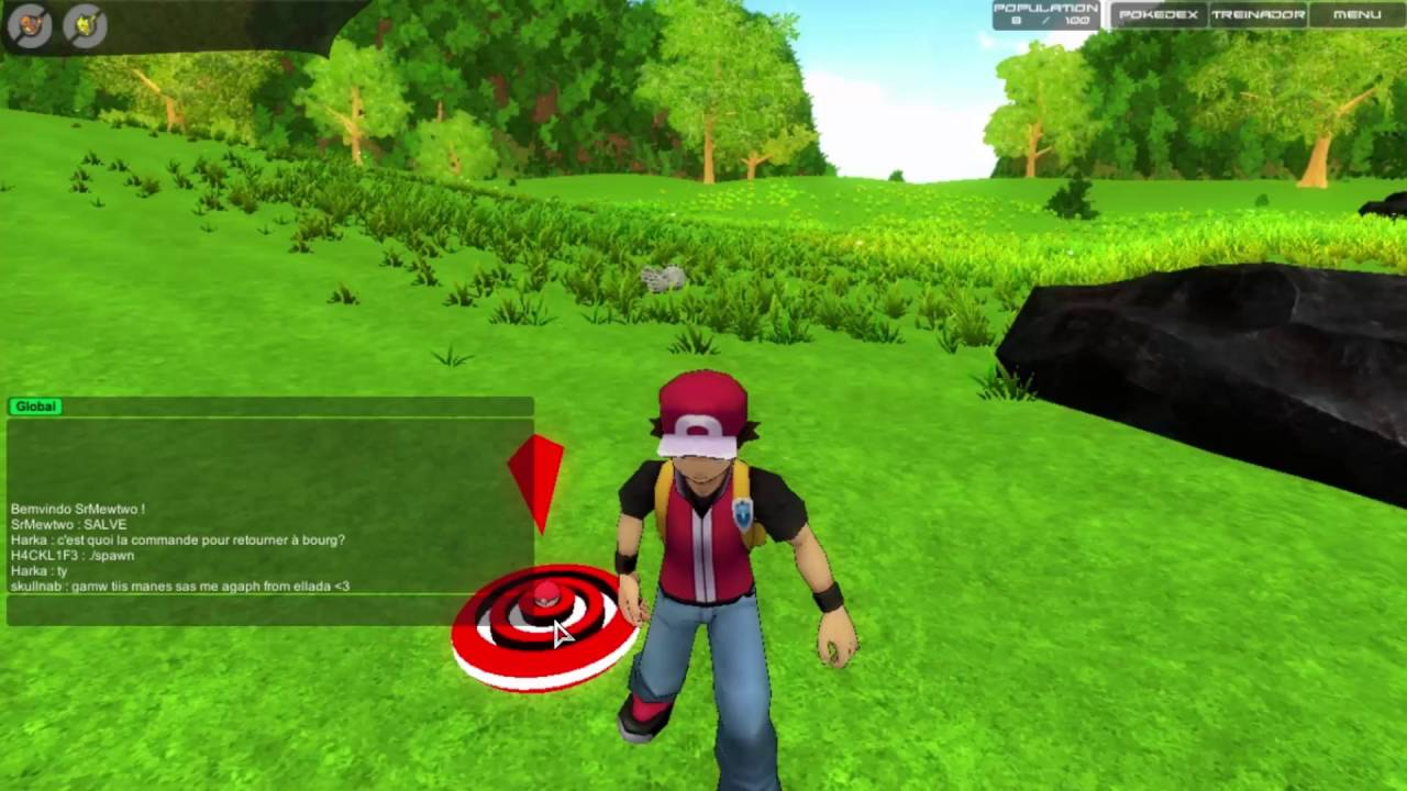 POKEMON MMO 3D - Capturando Eevee / Squirtle / Pikachu ...