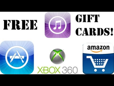 how to get a free amazon gift card how to get free apps gift cards amazon xbox itunes 6892