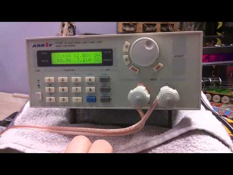Mean Well S-350-12 Power Supply Testing