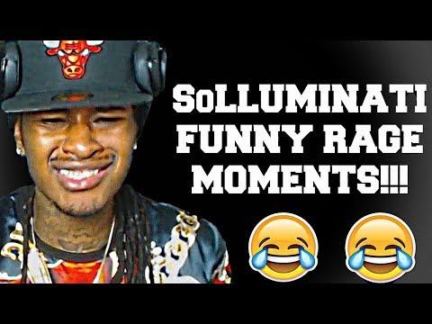 SoLLUMINATI FUNNY RAGE MOMENTS!