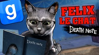 FELIX LE CHAT ET LE DEATH NOTE - GARRY'S MOD DARKRP