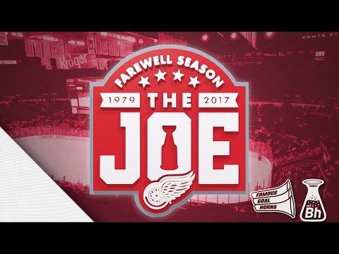 Detroit Red Wings Final Joe Louis Arena Goal Horns