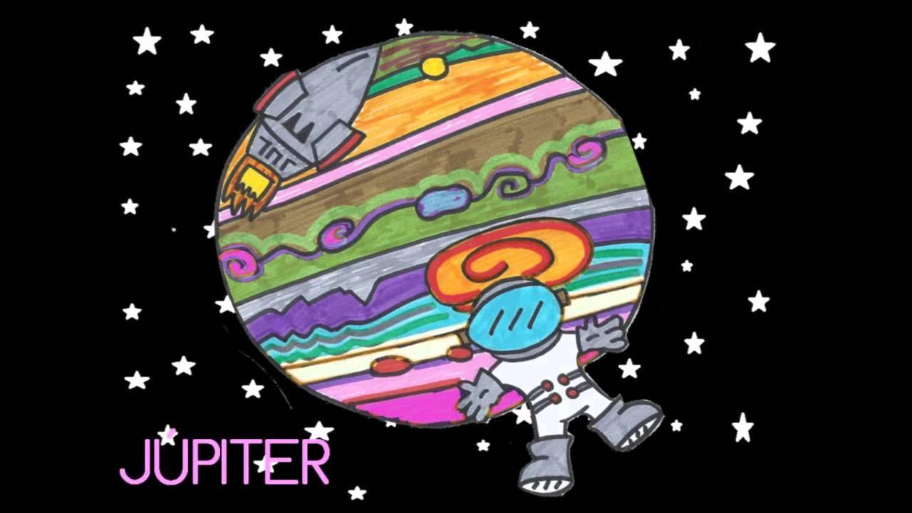 Cuento lupito el astronauta youtube - Dibujos infantiles del espacio ...