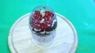 Как приготовить салат «Гранатовый браслет»