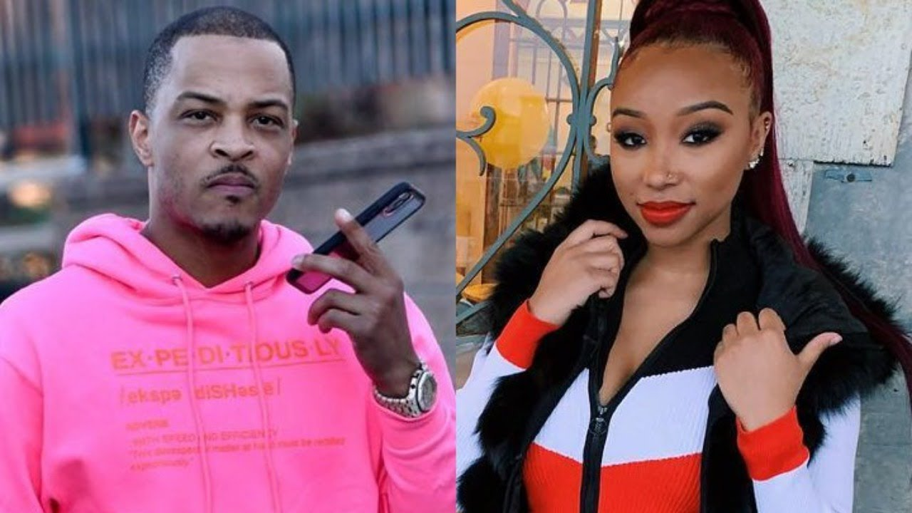 T.I. Looks Visibly Annoyed After Daughter Zonnique Pullins Confirms Pregnancy With Bandhunta Izzy!!