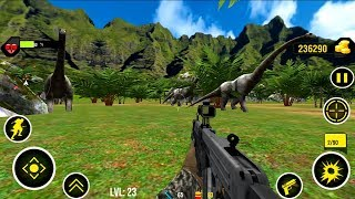 Dinosaurs Hunter Android Gameplay Mountain HD