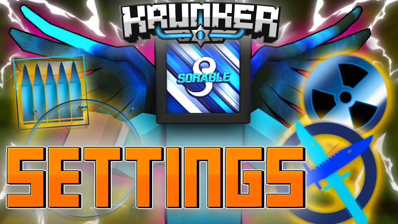 Download MY BEST KRUNKER SETTINGS! (Easy Nukes!)