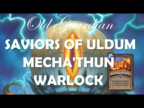 Mecha'thun Warlock deck guide and gameplay (Hearthstone Saviors of Uldum)