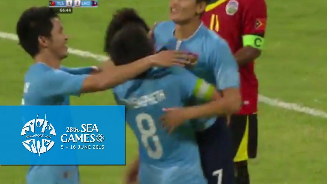 Video: U23 Đông Timo vs U23 Lào