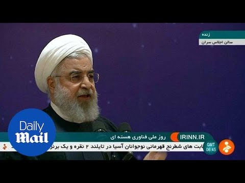 Rouhani says US would regret pulling out of nuclear deal - Daily Mail