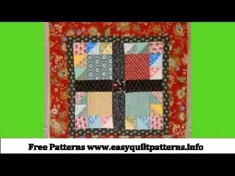Beginners Quilt Block Patterns Bear Paw Quilt Block 12 Inch Youtube
