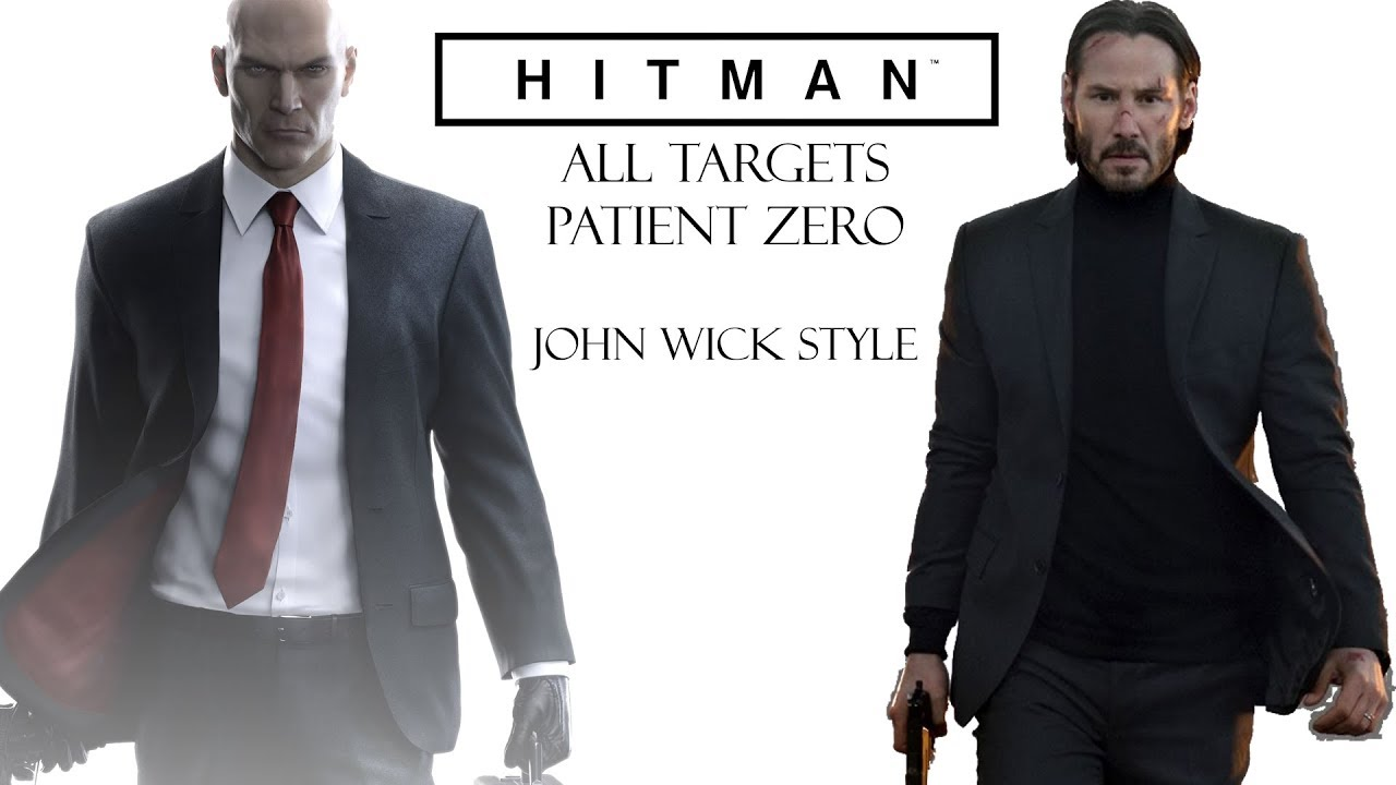Hitman Killing All Targets On Professional Difficulty John Wick Style Youtube