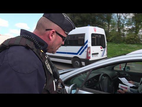 Coronavirus: Nantes les premiers contrôles routiers