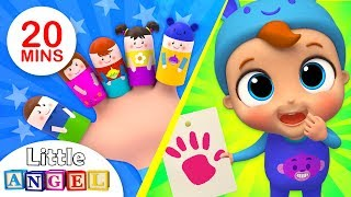 Finger Family Song, Colors Edition | Nursery Rhymes & Kids Songs by Little Angel