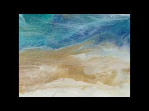 Oceanic Art by Susan Doyle - Fluid Painting With Art Resin