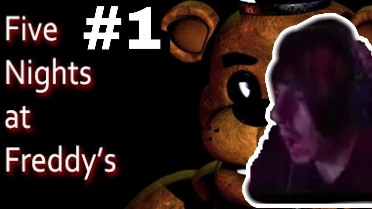THIS GAME HAS ME IN GREAT SUSPENSE!!!!!!  FIVE NIGHTS AT FREDDY'S #1