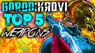 "'Top 5 WEAPONS' in GOROD KROVI Black Ops 3 Zombies! - ""Call of Duty BO3 Zombies BEST Weapons"""