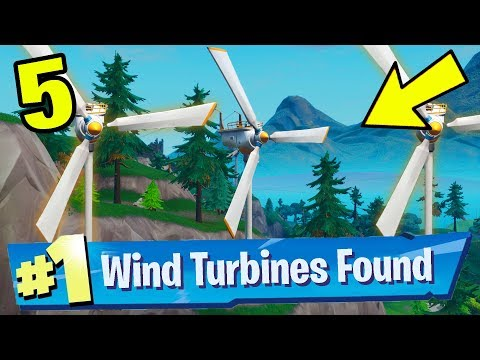 Visit Different Wind Turbines In A Single Match Fortnite Week 5 Challenges Guide Location