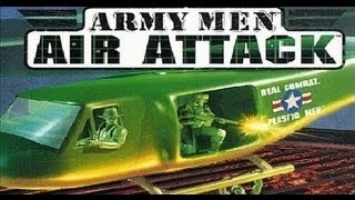 Classic PS1 Game Army Man Air Attack on PS3 in HD 1080p