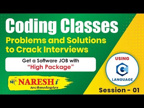 Coding Skills using C Language @ 2:00 PM | Session-1 | by Mr.Srinivas