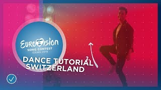 "#lucagotme: How to dance to ""She Got Me"" - Eurovision 2019"