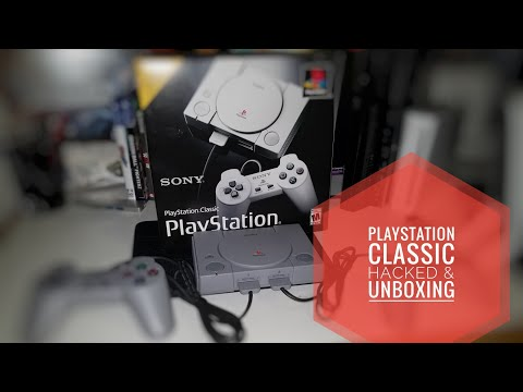 Playstation Classic Hacked and Unboxing! How To Hack and Run Games From USB EASILY